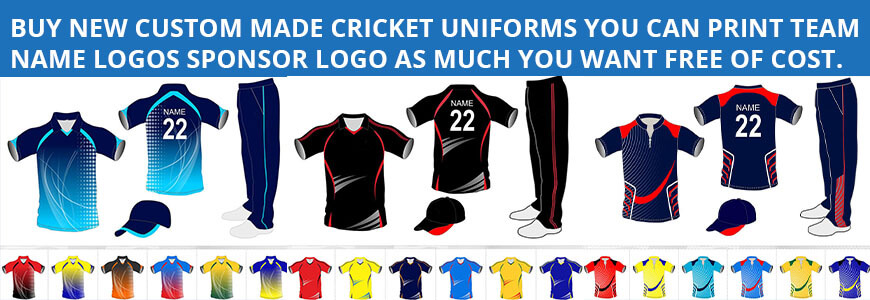 Custom Cricket Jerseys